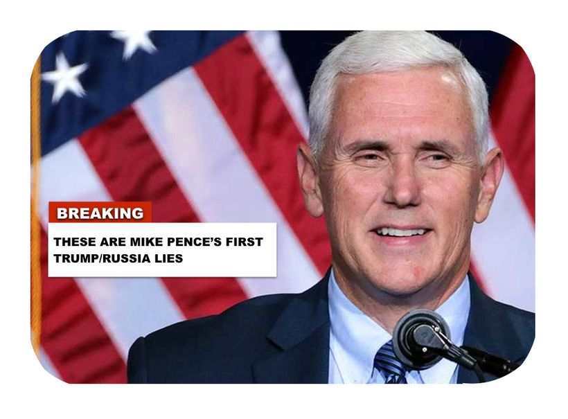 Mike Pence Knew General Mike Flynn Lied About His Secret Calls With Russia... This Video Proves It 100%.