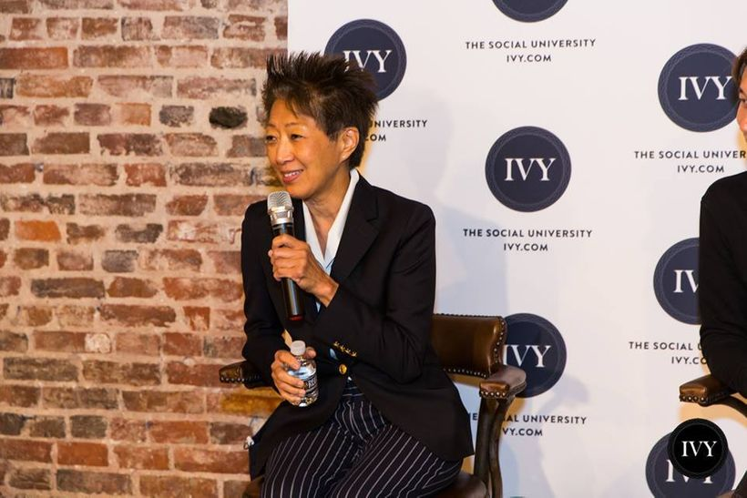 National Endowment of the Arts Chairman Jane Chu at an IVY Ideas Night