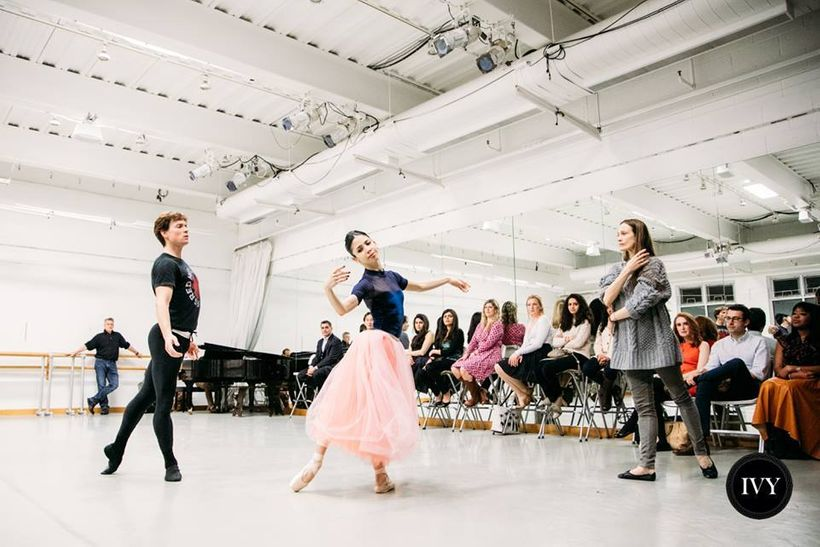 IVY Dance Lab with Julie Kent, Artistic Director, and dancers of the Washington Ballet