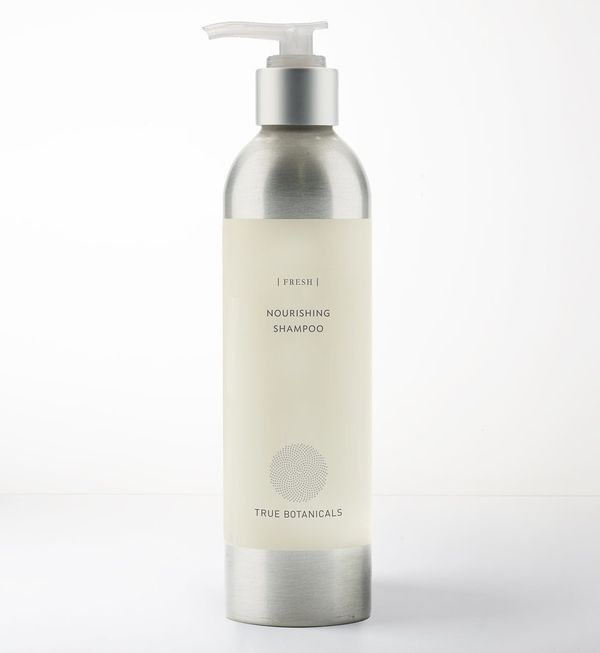 "Get it <a href=""https://truebotanicals.com/products/nourishing-shampoo-fresh"" target=""_blank"">here</a>."