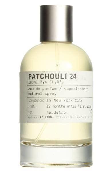 """Get it <a href=""""https://shop.nordstrom.com/s/le-labo-patchouli-24-eau-de-parfum/4335776"""" target=""""_blank"""">here</a>."""