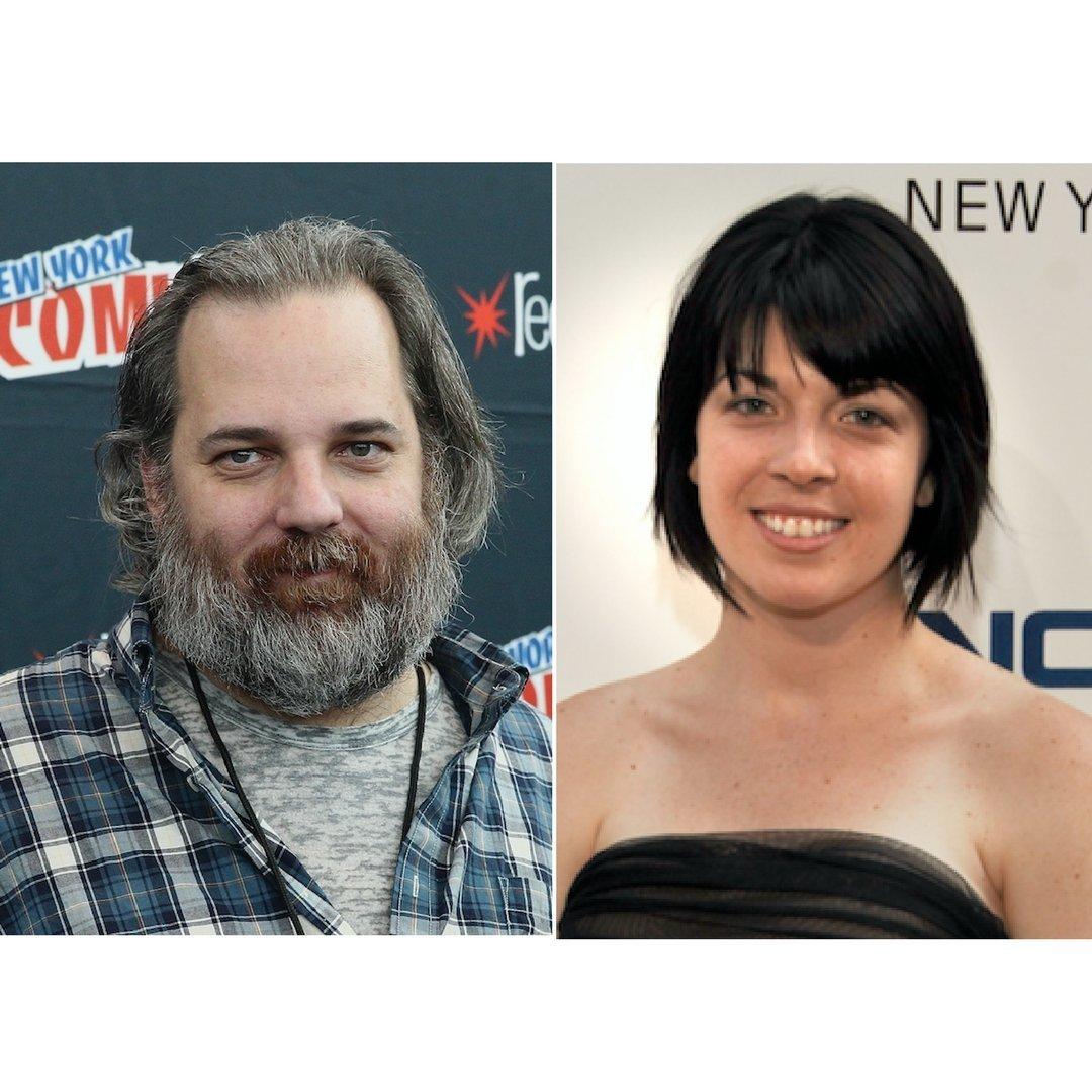Dan Harmon and Megan Ganz.