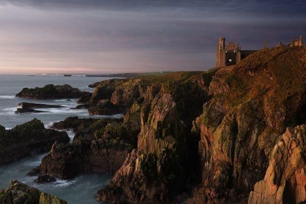 Slains Castle, near Cruden Bay,
