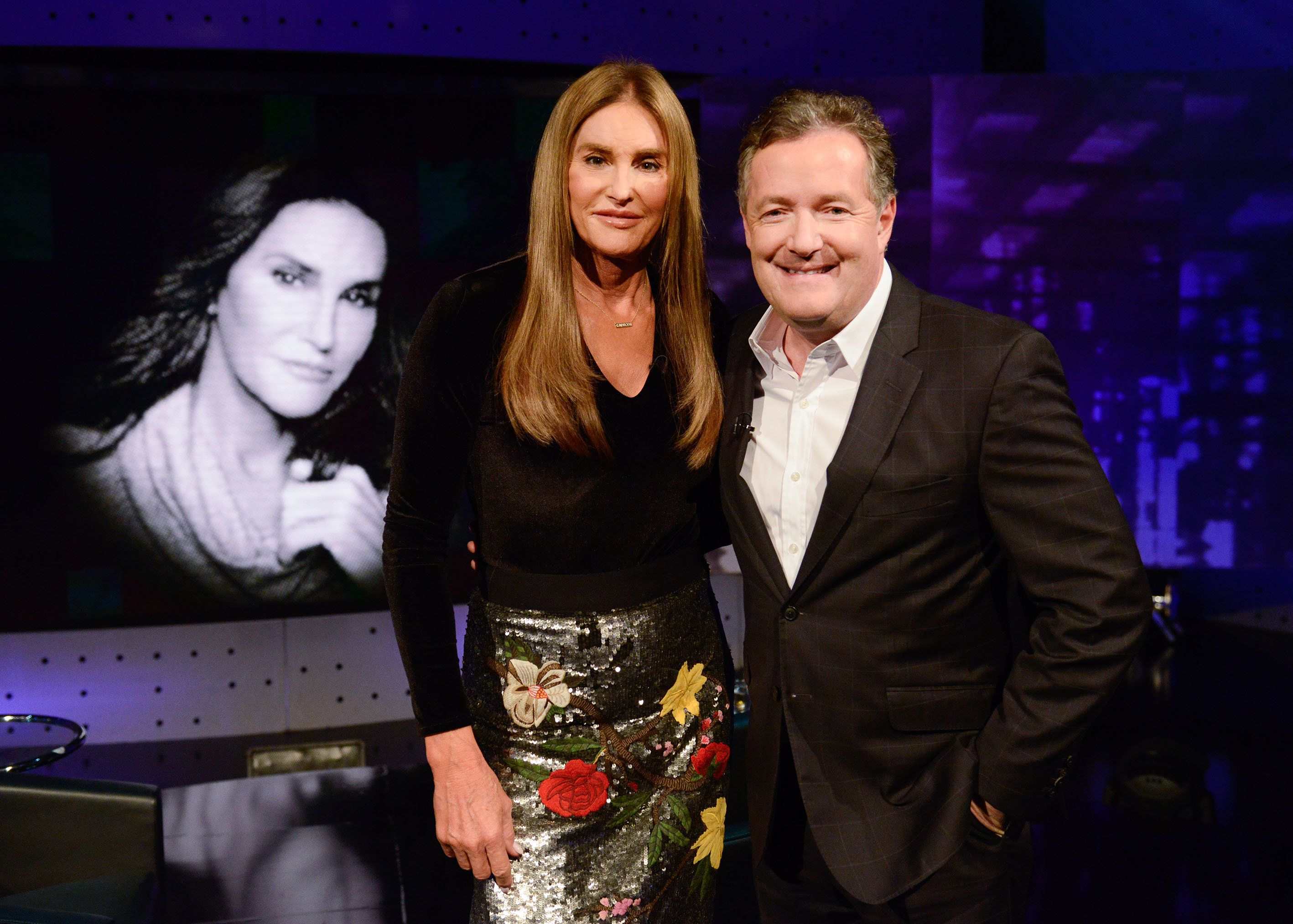 Caitlyn Jenner and Piers