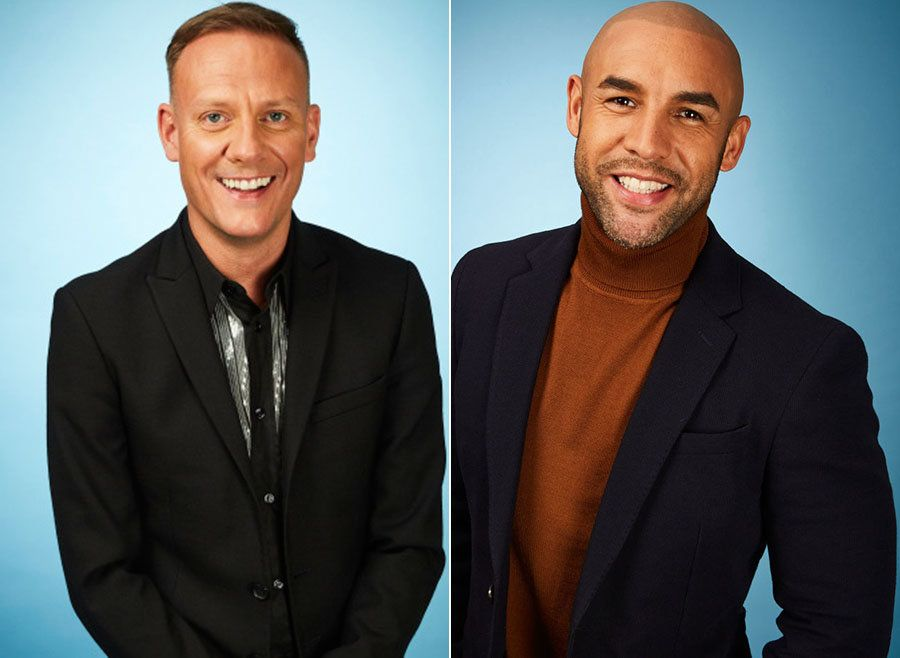 'Dancing On Ice' Stars Antony Cotton And Alex Beresford Reveal Injury And Illness