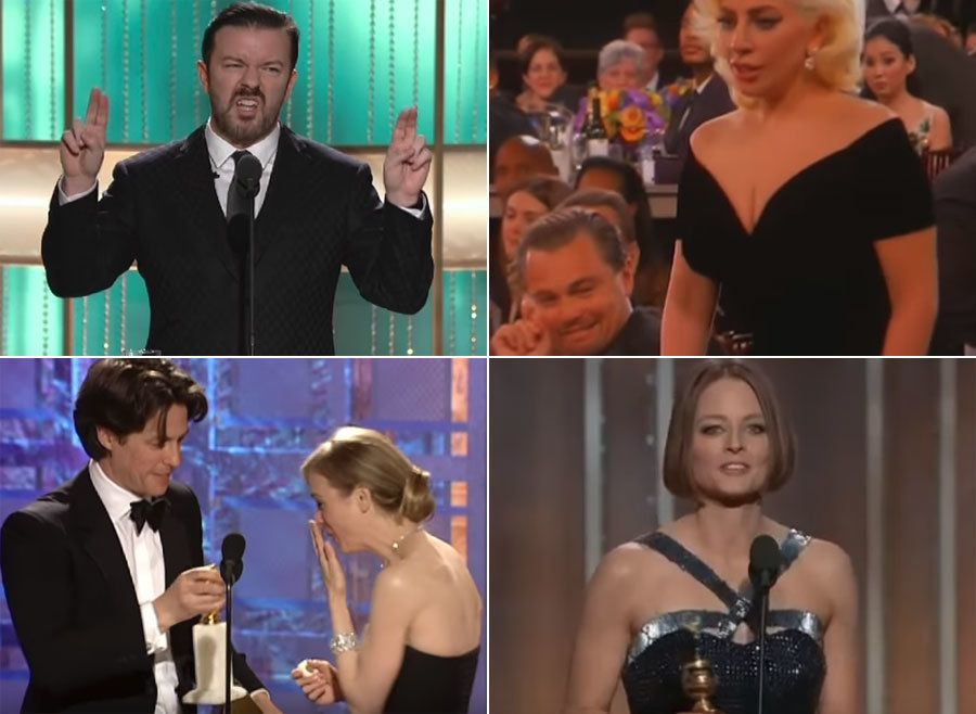 The Golden Globes' Most Memorable