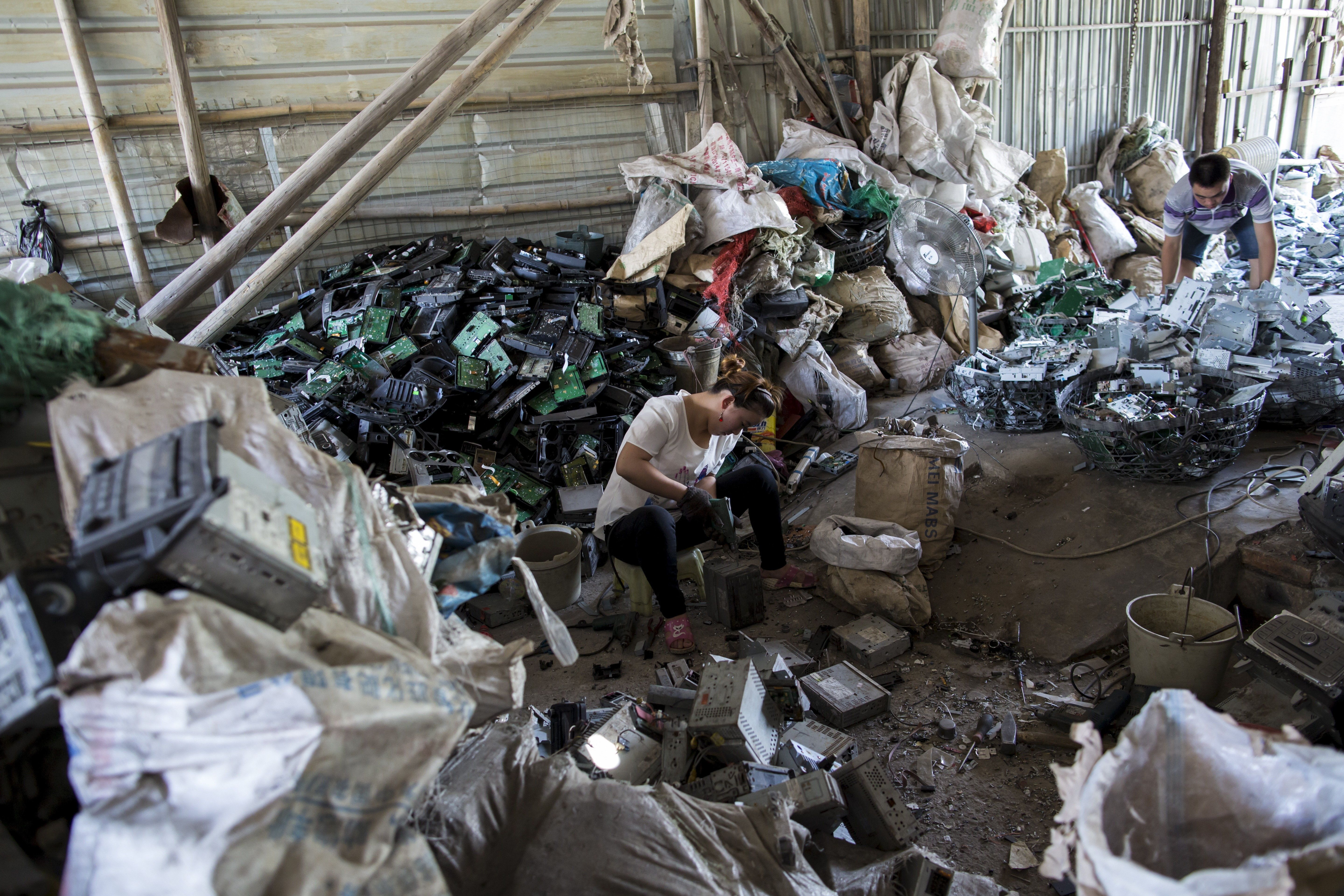 China has introduced a ban on importing plastic waste which could lead to mountains of waste building...