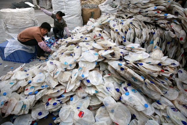 China has taken in millions of tonnes of plastic waste from Britain since