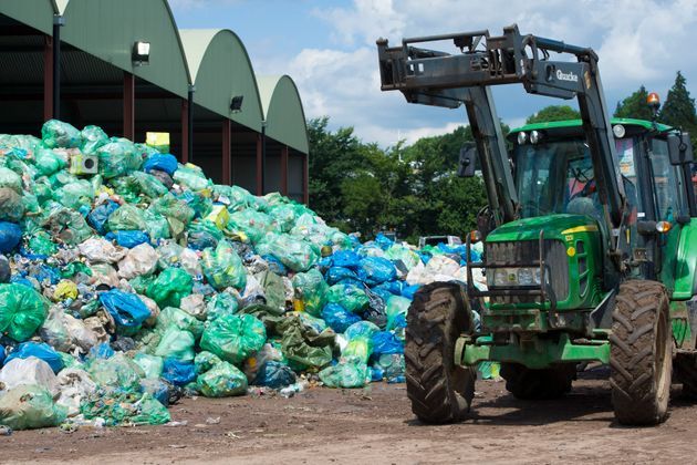 A recycling plant in Somerset (stock