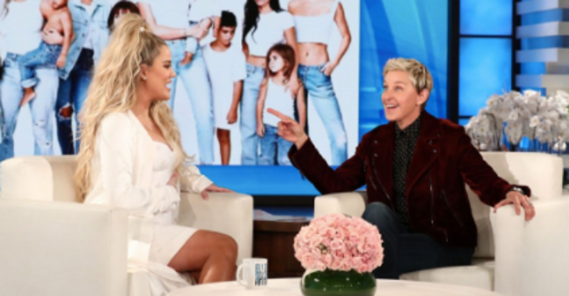 Ellen Confirms Kylie Jenner Is Pregnant By Looking At Khloe's Eyes