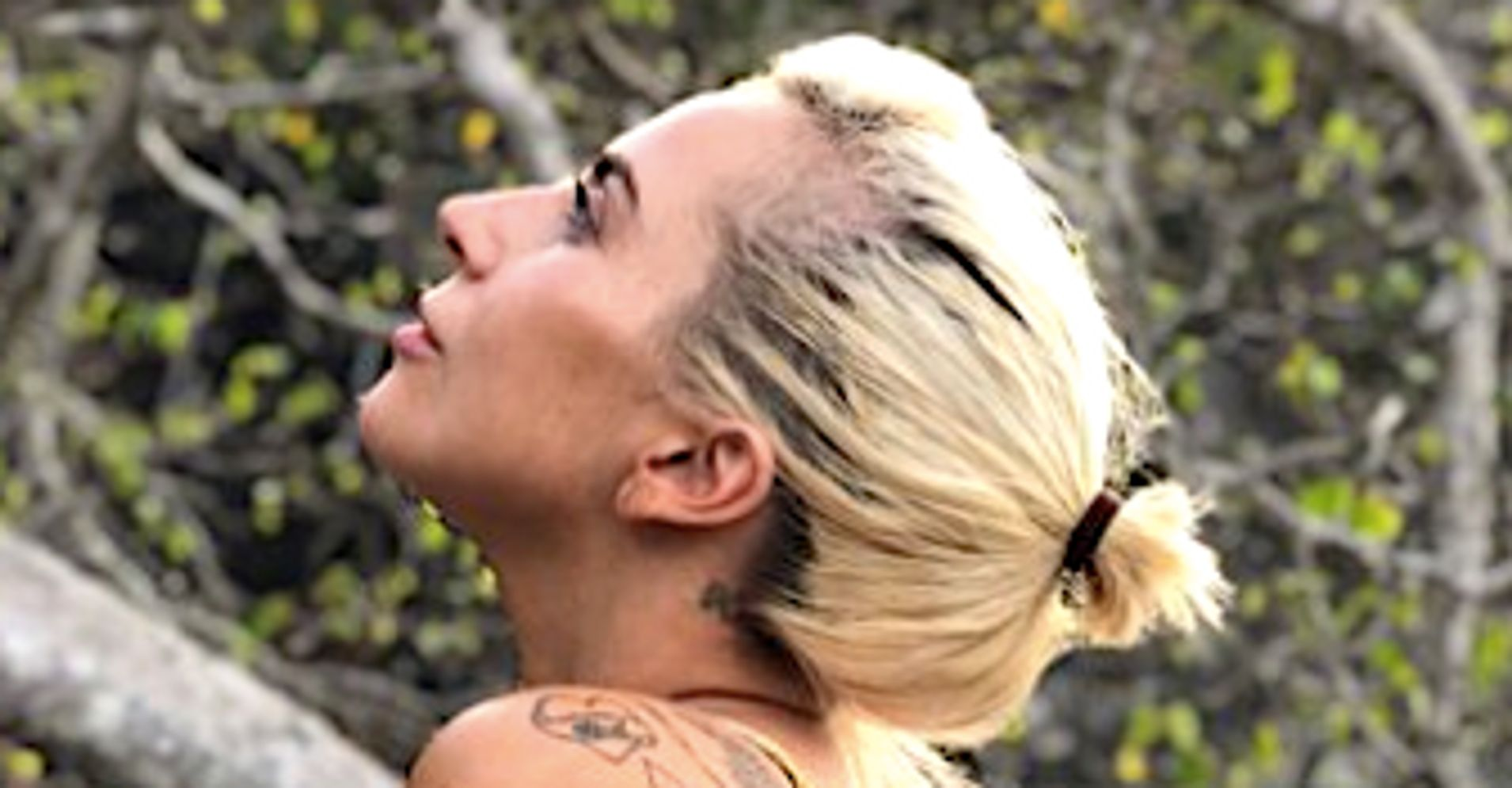 Lady Gaga's New Bikini Photo Shows Her Looking Up For The New Year