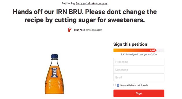 Scottish shoppers panic buy Irn-Bru ahead of recipe change