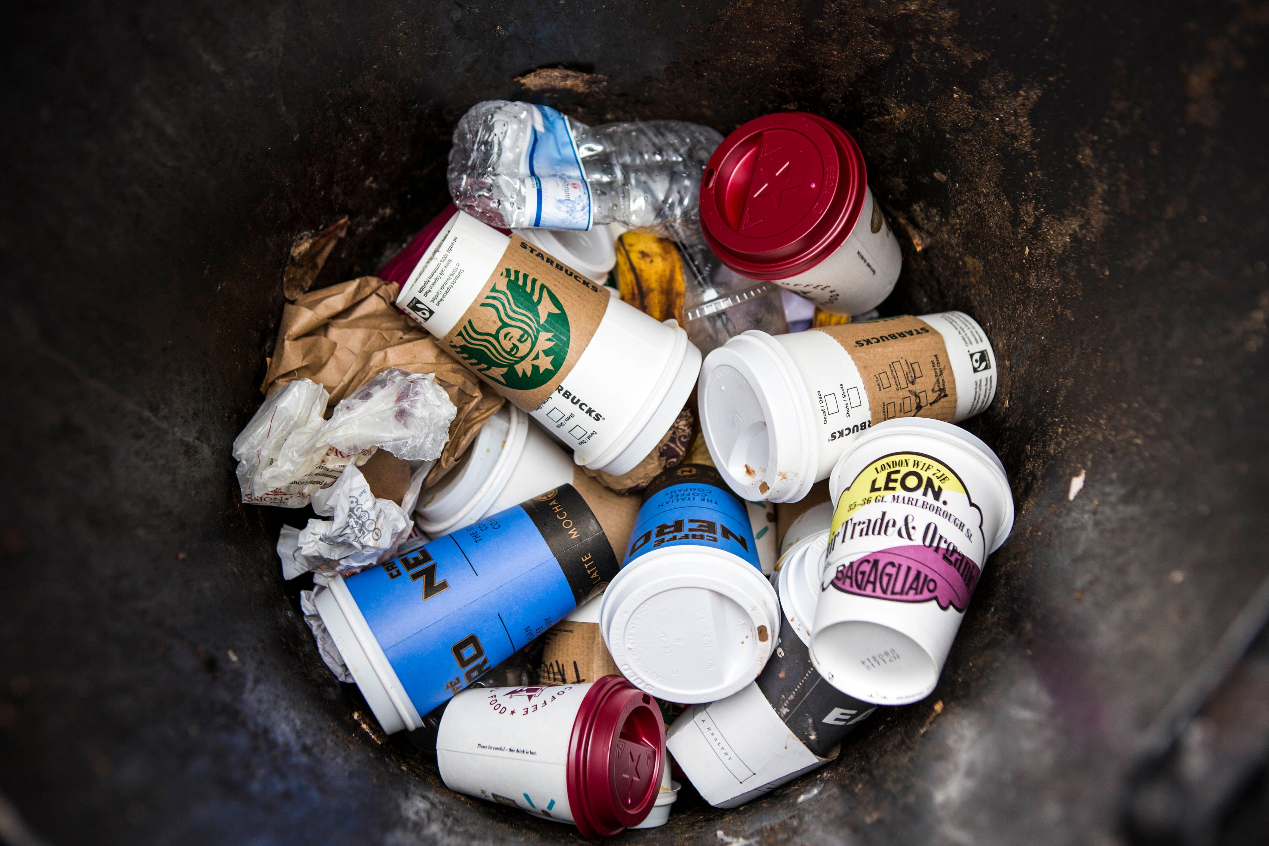 The UK throws away 2.5bn disposable coffee cups every