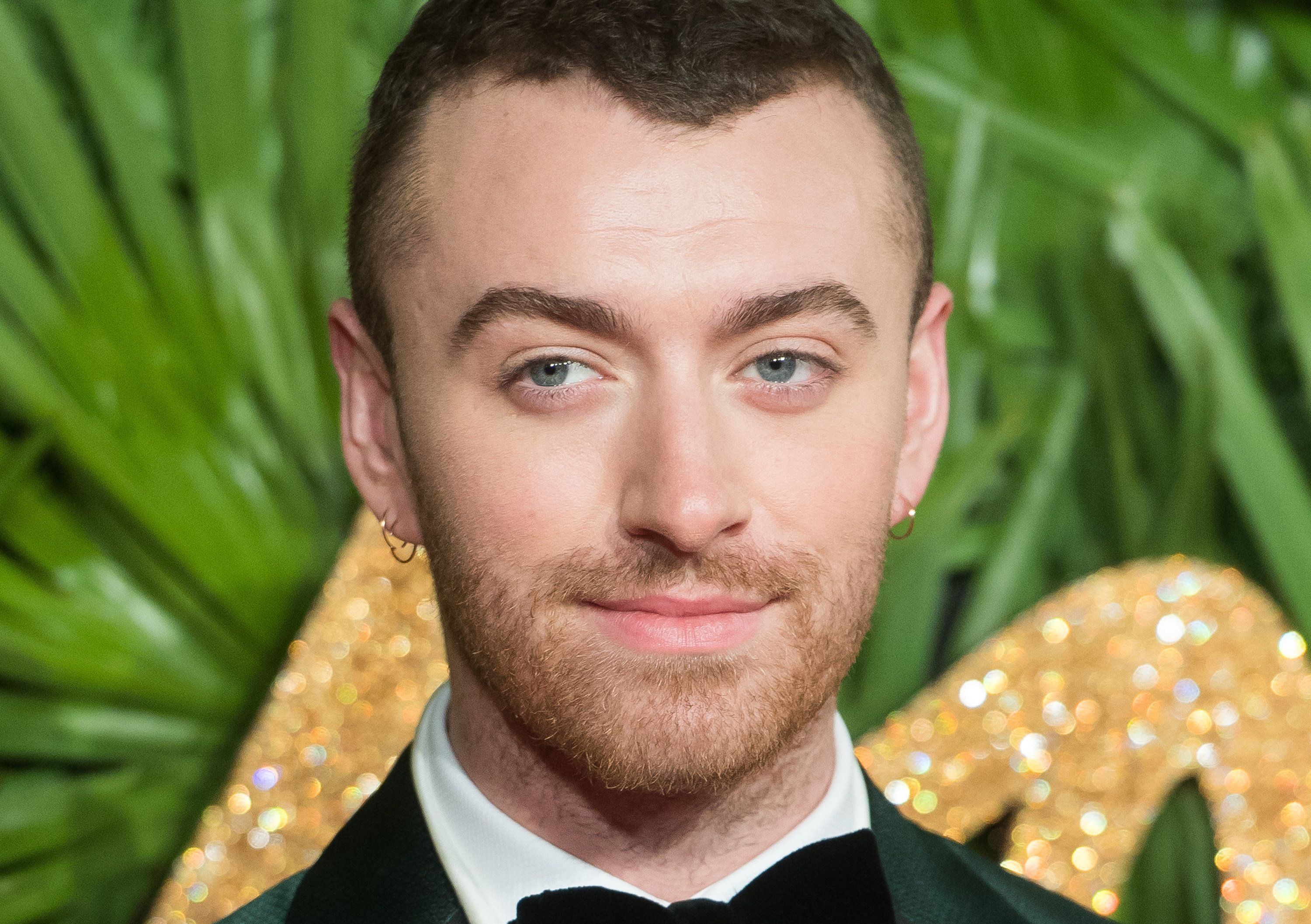 LONDON, ENGLAND - DECEMBER 04:  Sam Smith attends The Fashion Awards 2017 in partnership with Swarovski at Royal Albert Hall on December 4, 2017 in London, England.  (Photo by Samir Hussein/Samir Hussein/WireImage)