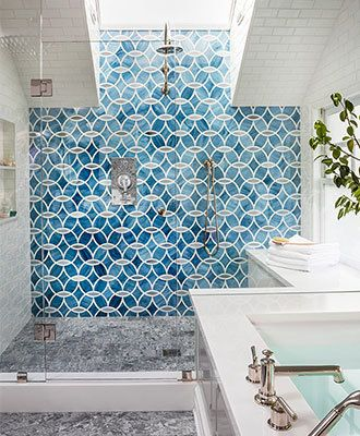GEOMETRIC PATTERNS. Image Via: House Of Turquoise