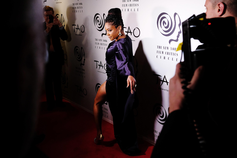 NEW YORK, NY - JANUARY 03: Tiffany Haddish attend the 2017 New York Film Critics Awards at TAO Downtown on January 3, 2018 in New York City.  (Photo by Nicholas Hunt/Getty Images)