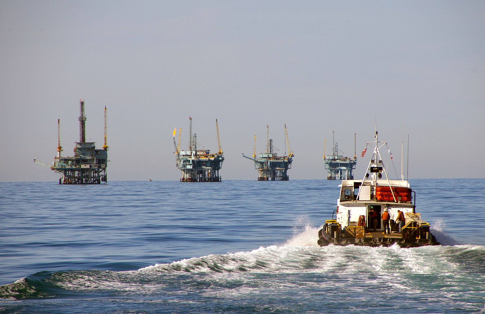 Pacific Coast Governors Condemn Federal Decision to Expand Offshore Drilling
