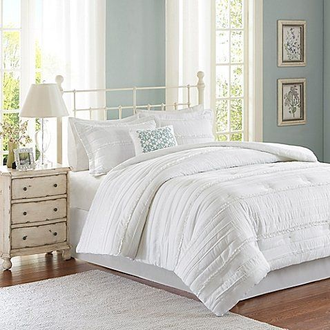 """Get it here from<a href=""""https://www.bedbathandbeyond.com/store/product/madison-park-celeste-5-piece-comforter-set/3292"""