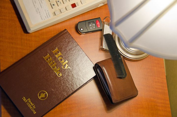 The Gideons International is best known for distributing Bibles in hotel rooms.