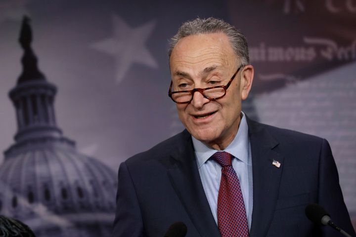 Senate Minority Leader Chuck Schumer (D-N.Y.) said Thursday that he had not yet seen Attorney General Jeff Sessions' change&n