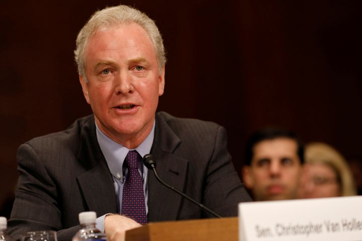 Sen. Chris Van Hollen (D-Md.), chairman of the Democratic Senatorial Campaign Committee, said Democrats' election-year messag