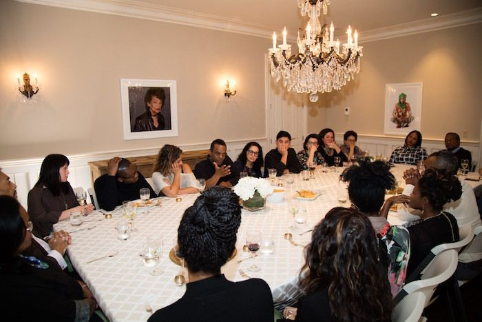 Dinner organized on March 13, 2016 at the home of collector Jessica Stafford Davis McLean in Virginia, outside Washington DC.