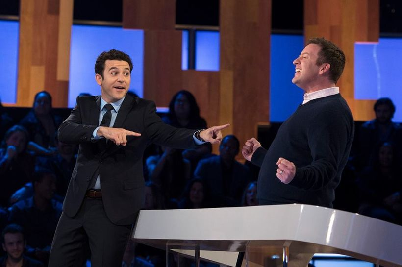 Fred Savage with CHILD SUPPORT contestant Martin