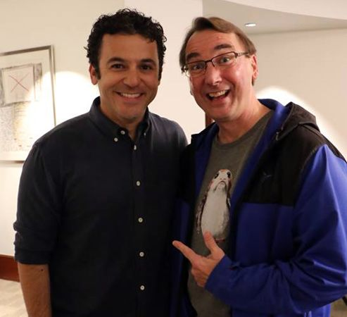Fred Savage chats with Dave Parfitt about CHILD SUPPORT on ABC Television