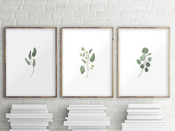 "Get the set of three <a href=""https://www.etsy.com/listing/566853282/eucalyptus-printable-set-of-3-prints?ga_order=most_relev"