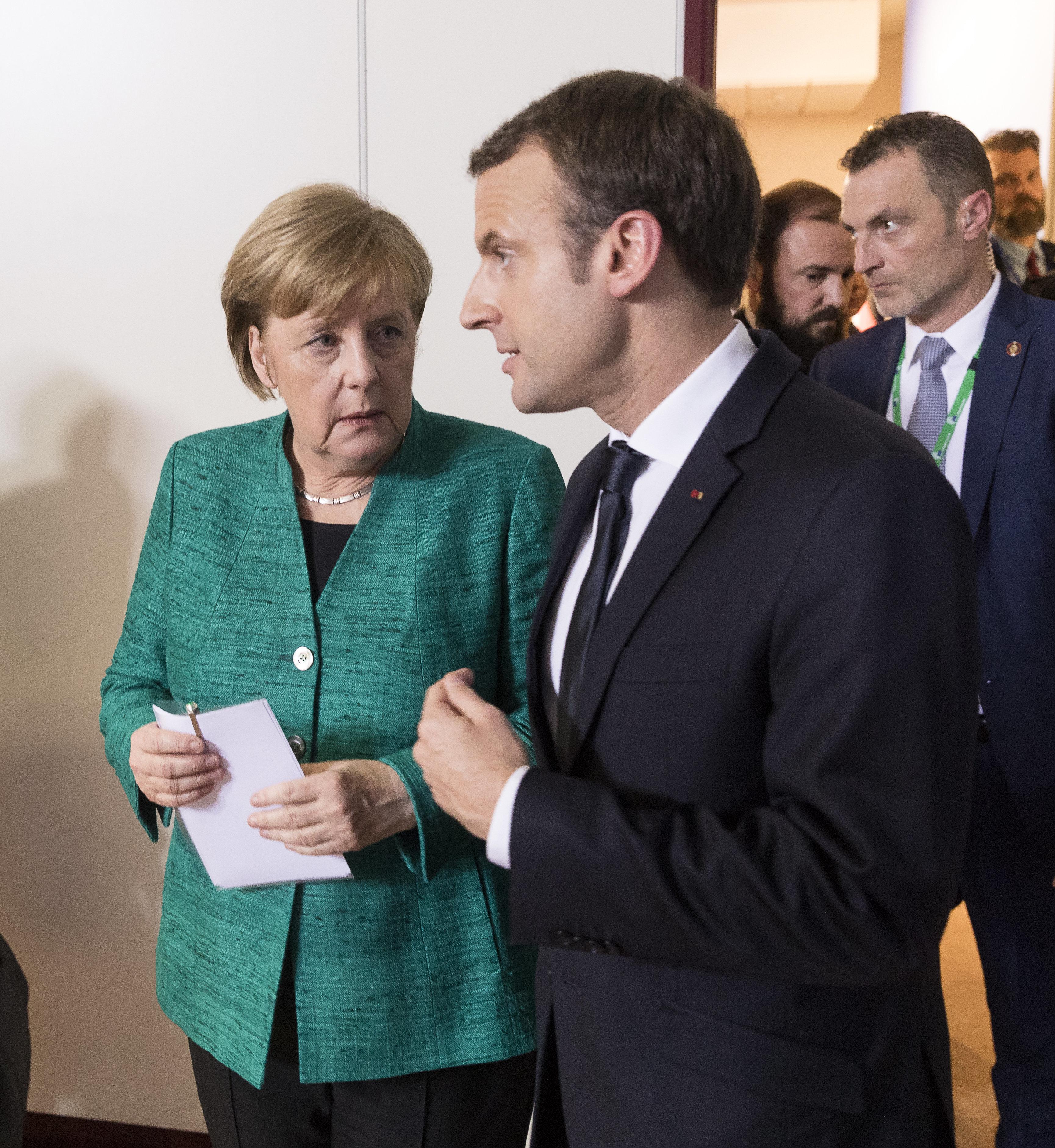 Mit dieser ehrgeizigen Strategie will Macron Merkels Vorherrschaft in Europa brechen