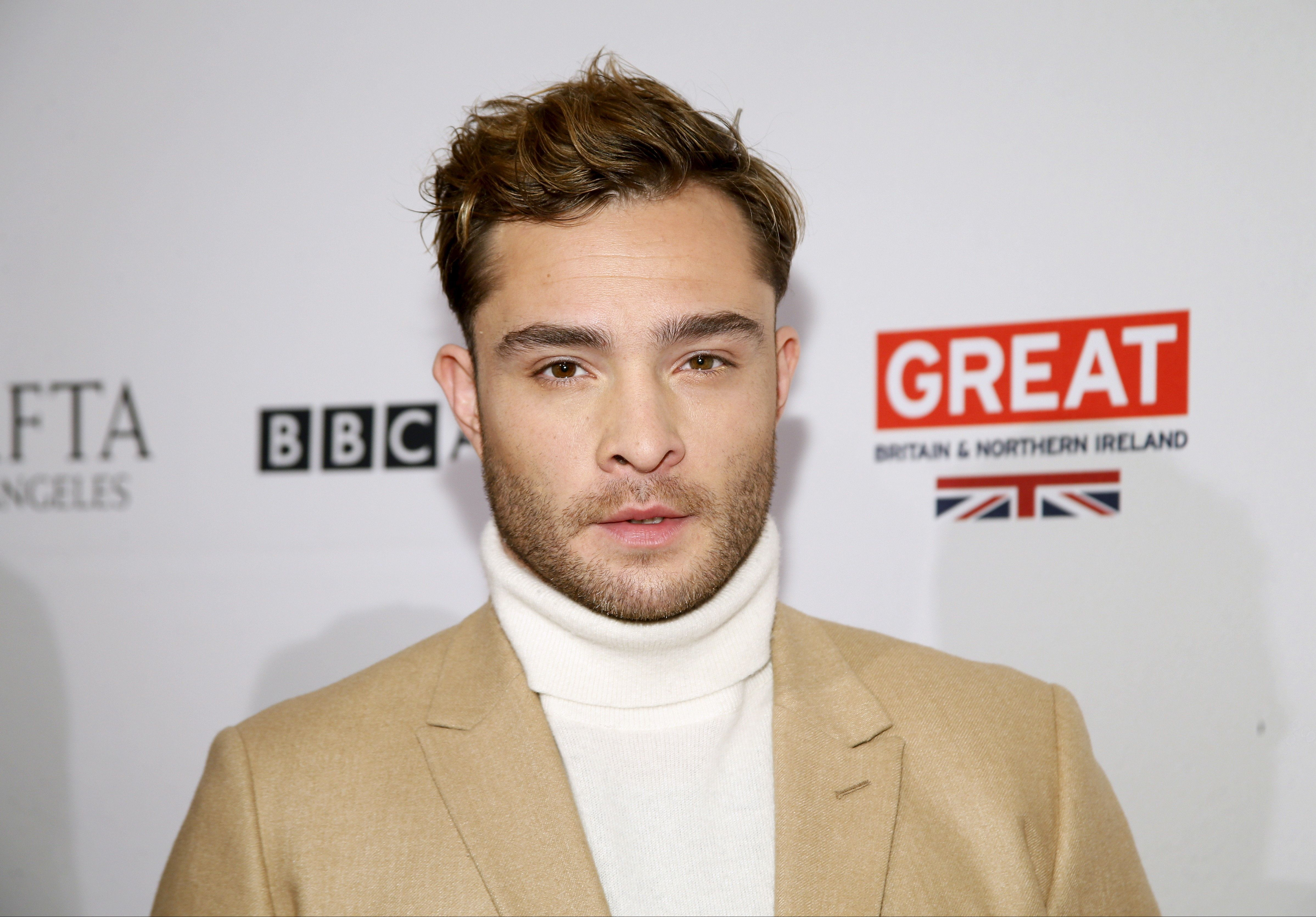 Actor Ed Westwick poses at the BAFTA Los Angeles Awards Season Tea Party in Beverly Hills, California, January 9, 2016. REUTERS/Danny Moloshok