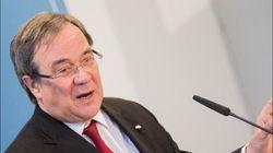 NRW-Ministerpräsident Laschet will in Interview über Merkel sprechen – doch die stört ihn gleich