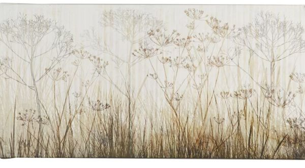 """Get it <a href=""""https://www.wayfair.com/decor-pillows/pdp/august-grove-wildflowers-ivory-by-cora-niele-acrylic-painting-print"""