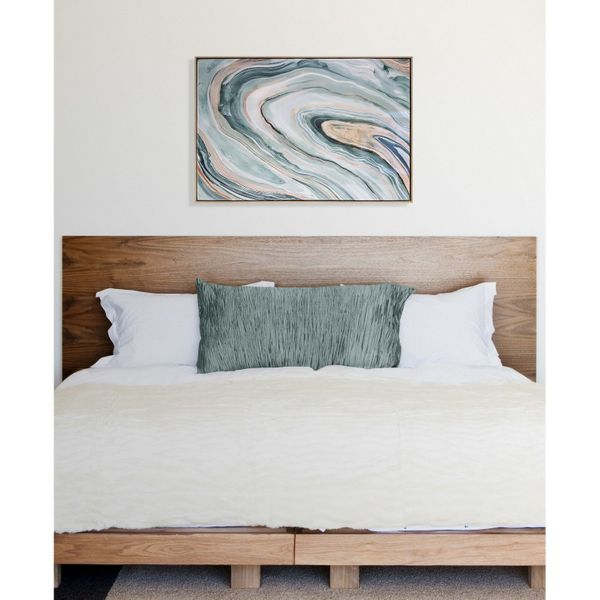 21 pieces of wall art that will work in any room huffpost 10 this high gloss agate canvas to add a cool effect to any room target gumiabroncs Gallery