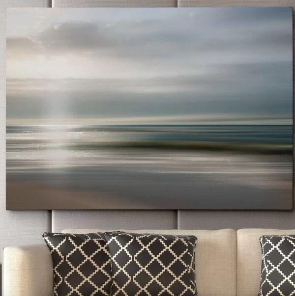 """Get it <a href=""""https://www.wayfair.com/decor-pillows/pdp/wexford-home-setting-sun-by-mike-calascibetta-framed-photographic-p"""