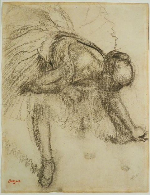Edgar Degas, <em>Study of a Dancer </em>(ca. 1890)