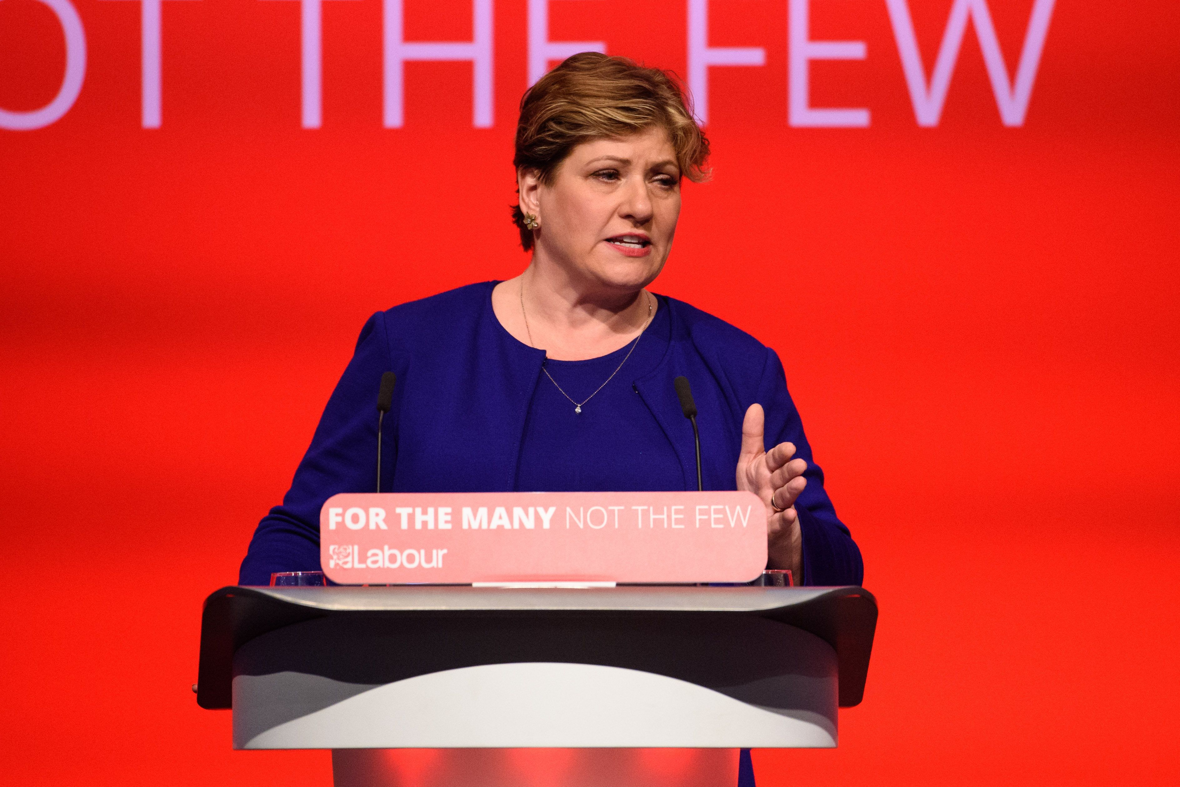 Emily Thornberry Says Labour Cannot Back Iran Protesters Because It's Unclear Who Has 'White