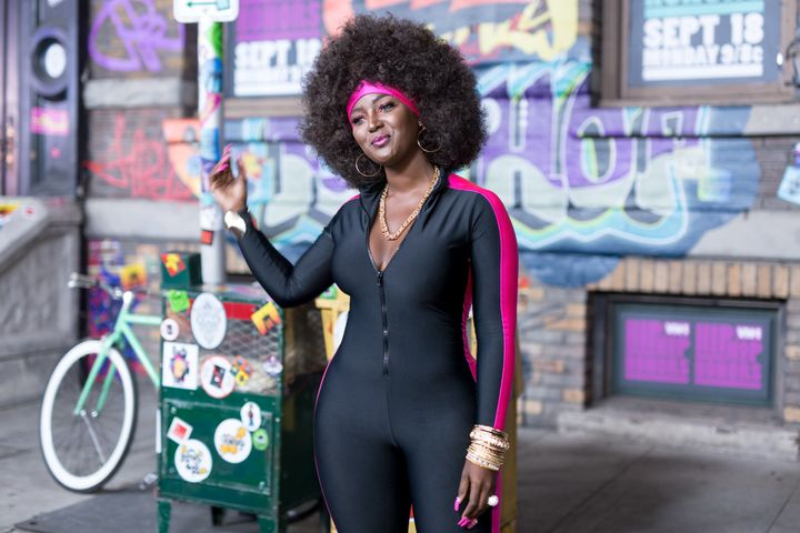Amara La Negra at VH1's Hip Hop Honors: The 90's Game Changers.