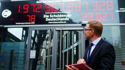 Το «ρολόι χρέους» της Γερμανίας γυρίζει πίσω για πρώτη φορά τα τελευταία 20