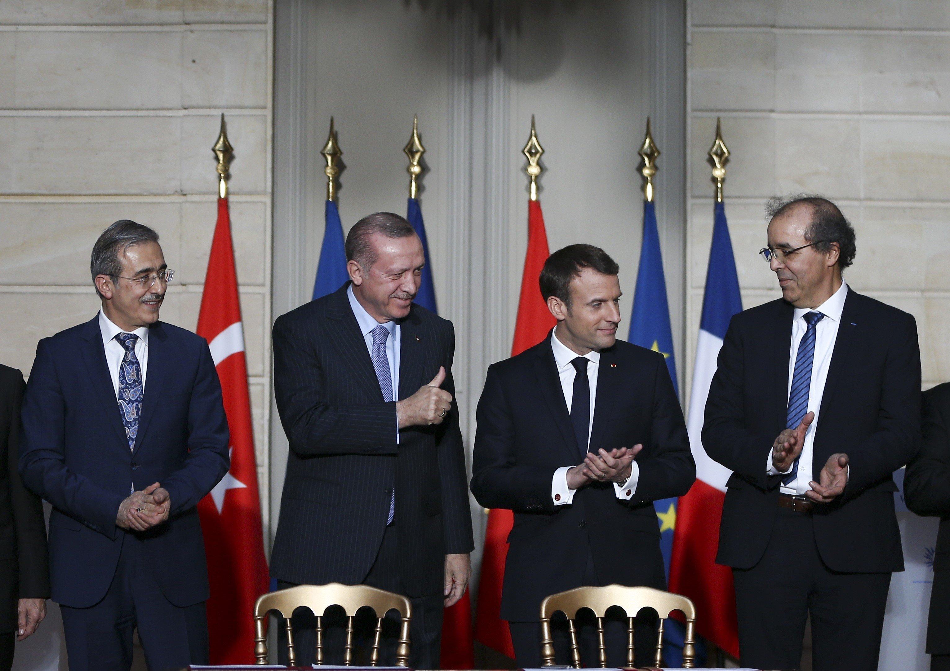 Beim Thema EU-Beitritt lässt Macron Erdogan knallhart auflaufen
