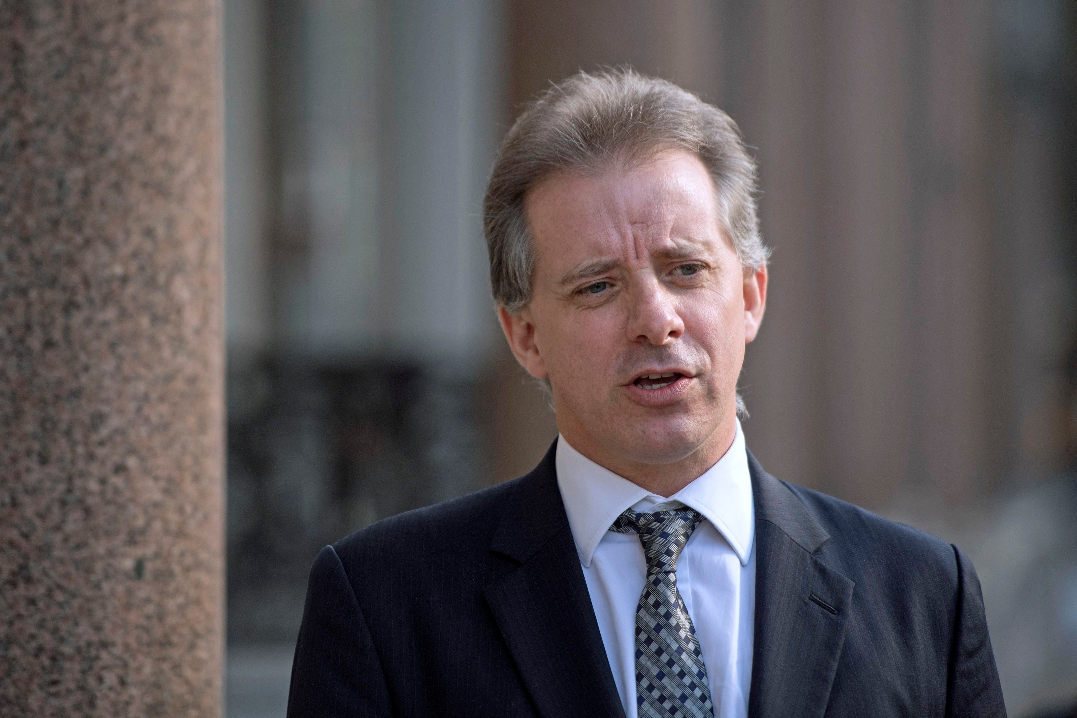 The Senate Judiciary Committee has recommended thatChristopher Steele be investigated.