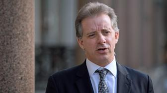 Christopher Steele, the former MI6 agent who set-up Orbis Business Intelligence and compiled a dossier on Donald Trump, in London where he has spoken to the media for the first time. (Photo by Victoria Jones/PA Images via Getty Images)