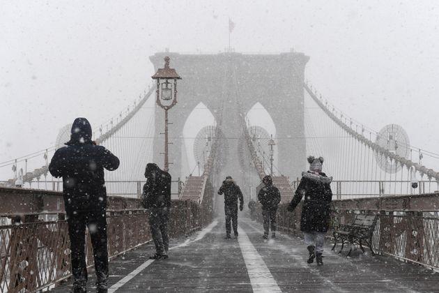 ΗΠΑ: Σφοδρή χιονόπτωση και πολικές θερμοκρασίες σε πολλές