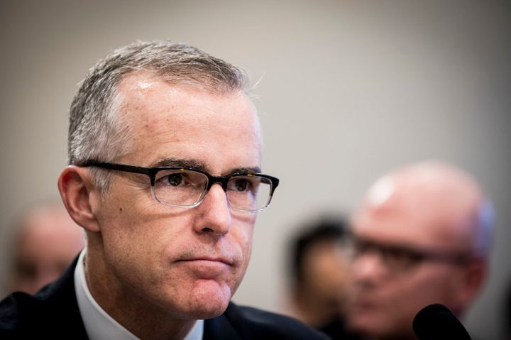 Andrew McCabe did not have a role in the Hillary Clinton email investigation while his wife was running for office, FBI docum