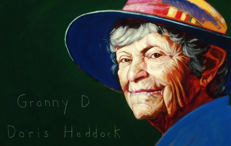 """Doris Haddock """"Granny D"""""""