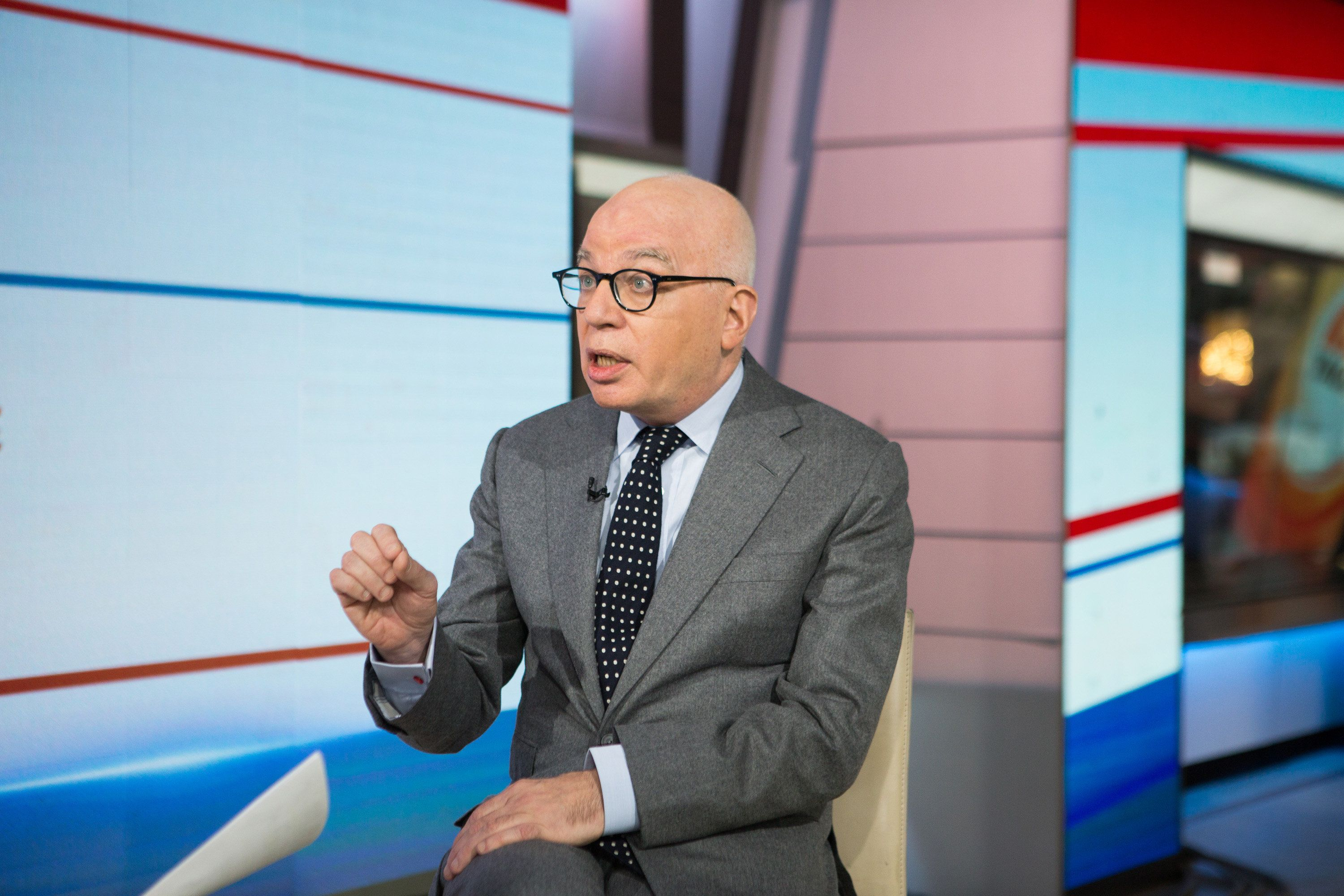 TODAY -- Pictured: Michael Wolff on Friday, January 5, 2018 -- (Photo by: Nathan Congleton/NBC/NBCU Photo Bank via Getty Images)