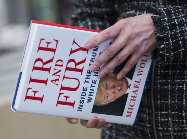 Michael Wolff told NPR he spent three hours with Donald Trump, spanning his campaign and presidency, for his book <i>Fire and