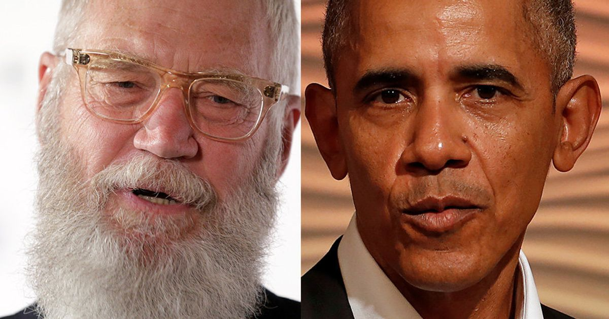 Take A Look At David Letterman's New Netflix Show, With Barack Obama As First Guest