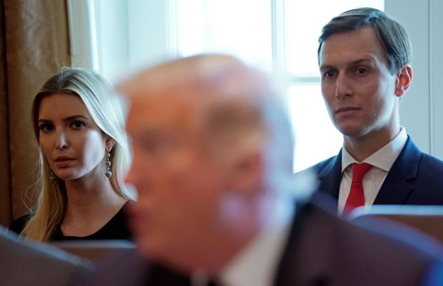 Ivanka Trump y su marido, Jared