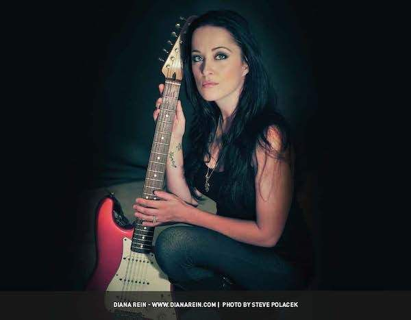 <strong><em>Diana Rein proud to be in Guitar Girl Magazine Calendar</em></strong>